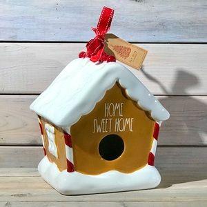 Rae Dunn Christmas Gingerbread Birdhouse 🎅🏼